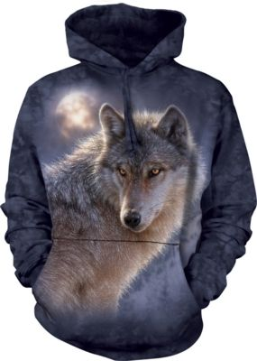 Adventure Wolf - Adult Hoodie Sweatshirt -  The Mountain®