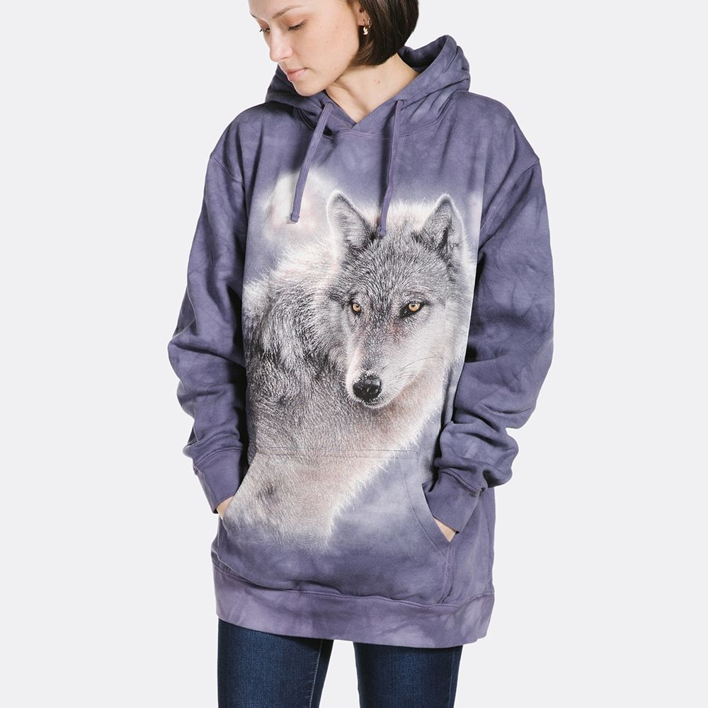 Adult Adventure Wolf Hoodie | Wolf Hooded Sweatshirt | The Mountain® UK