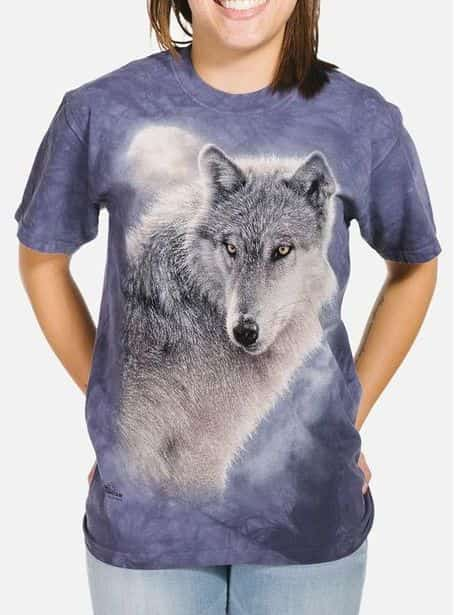 Adventure Wolf - Adult Wolf T-shirt - The Mountain®