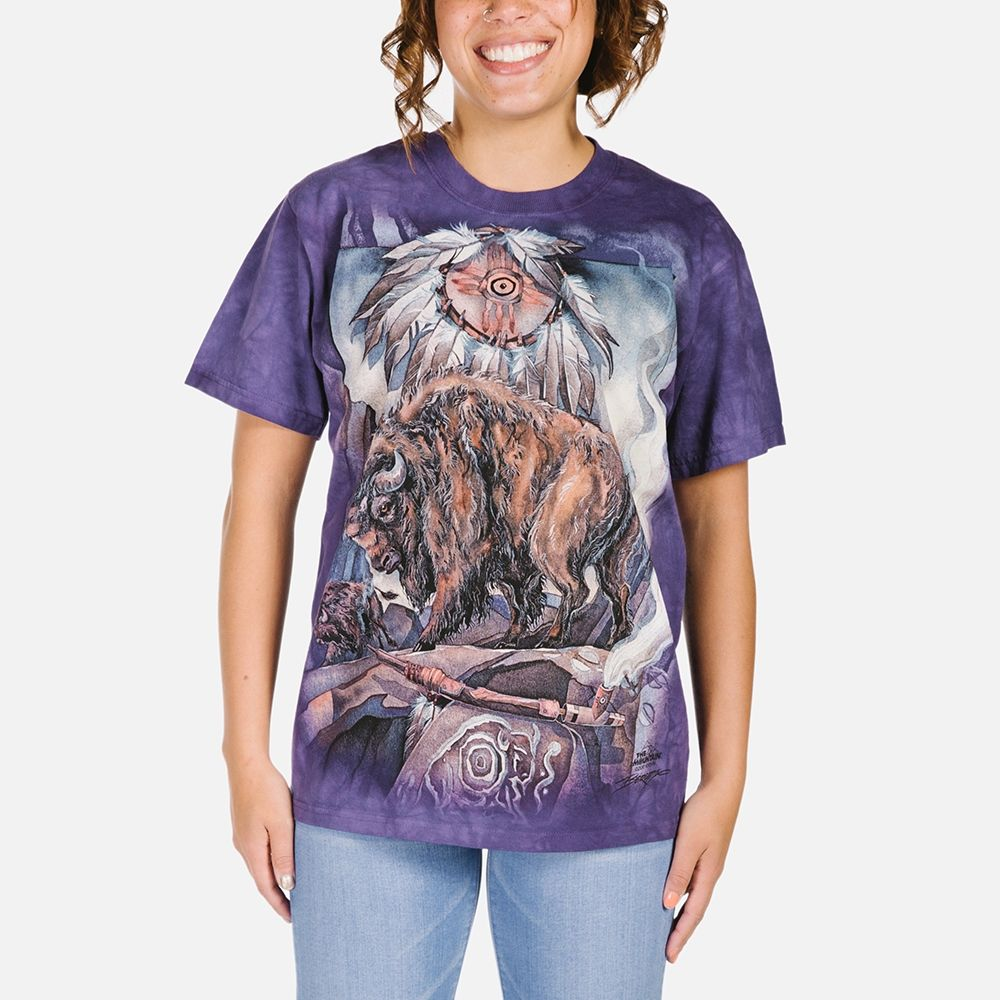 Against All Odds - Adult Native American T-shirt - The Mountain®