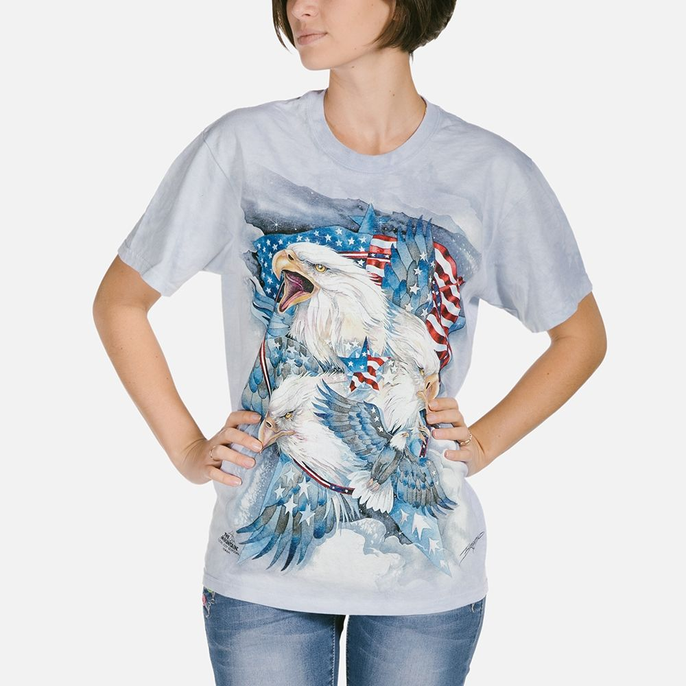 Allegiance Eagle  - Adult Americana T-shirt - The Mountain®