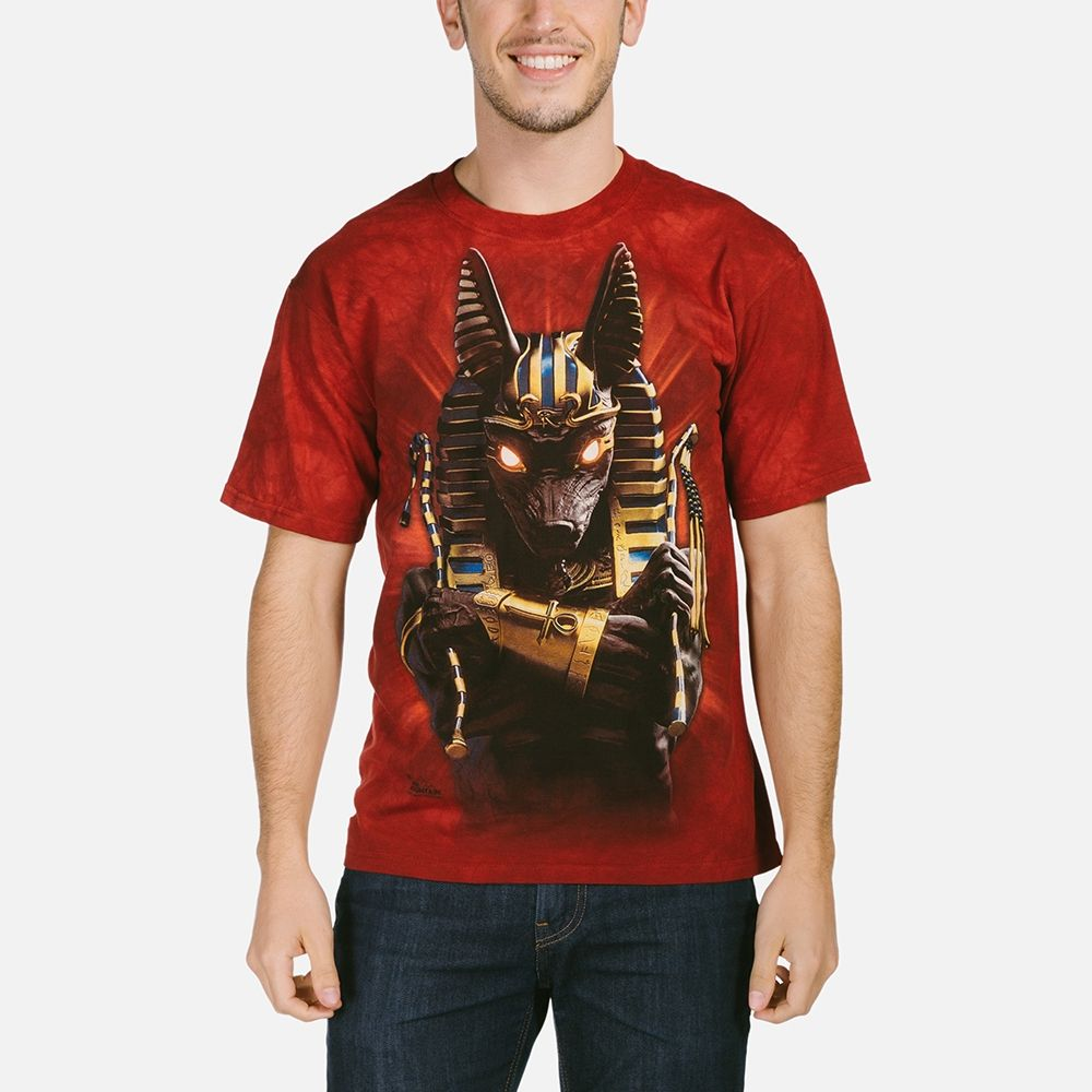 Anubis Soldier - Adult Egyptian T-shirt - The Mountain®