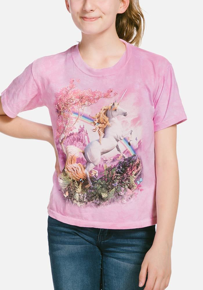 Awesome Unicorn - Kids Fantasy T-shirt - The Mountain®