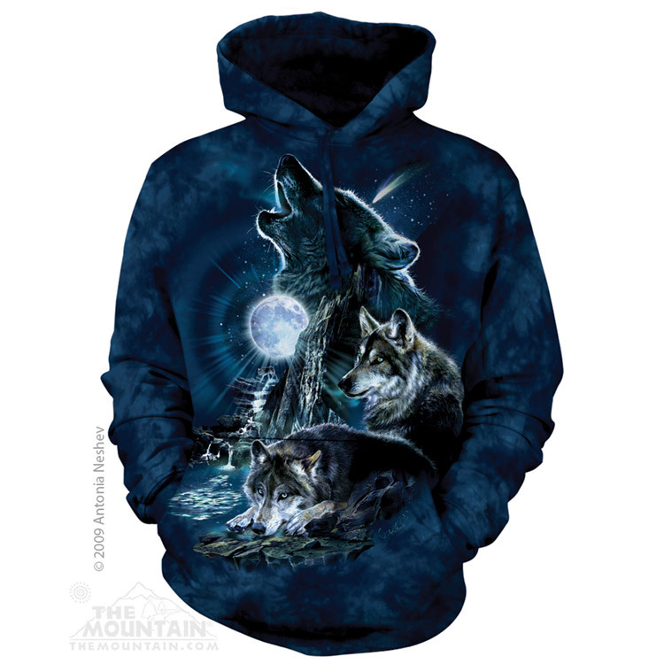 Bark At the Moon - Adult Wolf Hoodie - The Mountain®