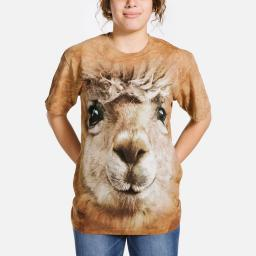 Big Face Alpaca - Adult Big Face™ T-shirt - The Mountain®