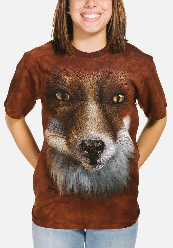 Big Face™ Fox - Adult Wildlife T-shirt - The Mountain®