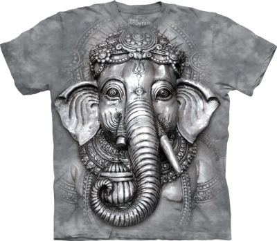 Big Face™ Ganesh - Adult Cultural T-shirt - The Mountain®
