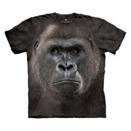 Big Face™ Lowland Gorilla - Adult Gorilla T-shirt - The Mountain®
