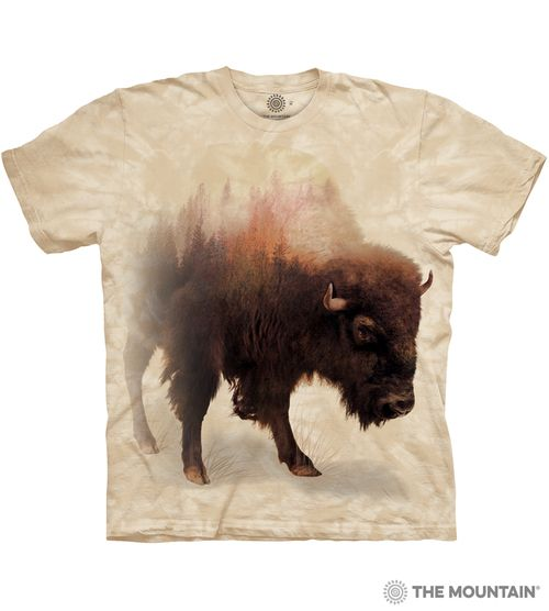 Bison Forest - Adult Wildlife T-shirt - The Mountain®