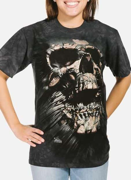 Breakthrough Skull - Adult Fantasy T-shirt - The Mountain®