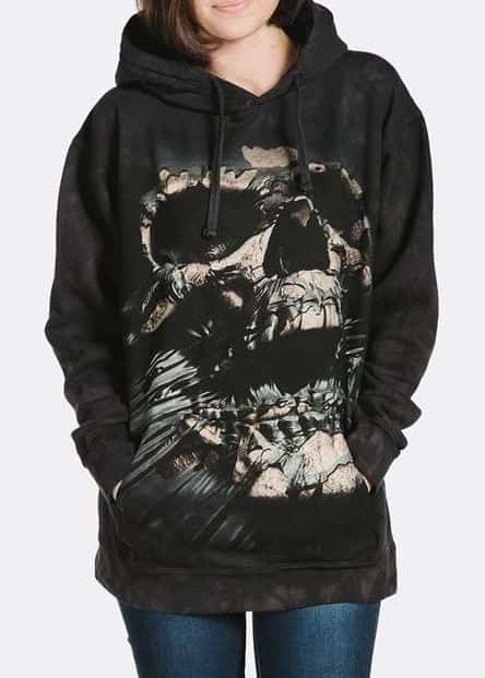Breakthrough Skull - Adult Hoodie Sweatshirt - The Mountain®