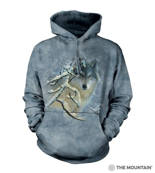 Broken Silence Hoodie  | The Mountain® UK | Adult Wolf Hooded Sweatshirts