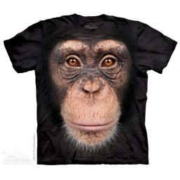 Chimp Face T-shirt | The Mountain®