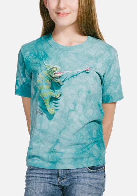 Climbing Chameleon - Kids Reptile T-shirt - The Mountain®