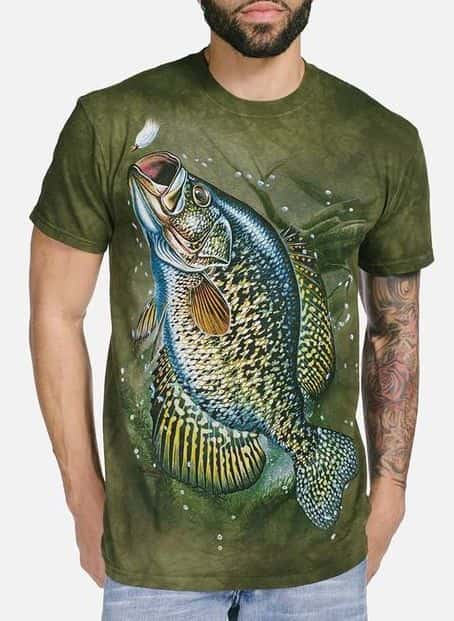 Crappie - Adult Fish T-shirts - The Mountain®