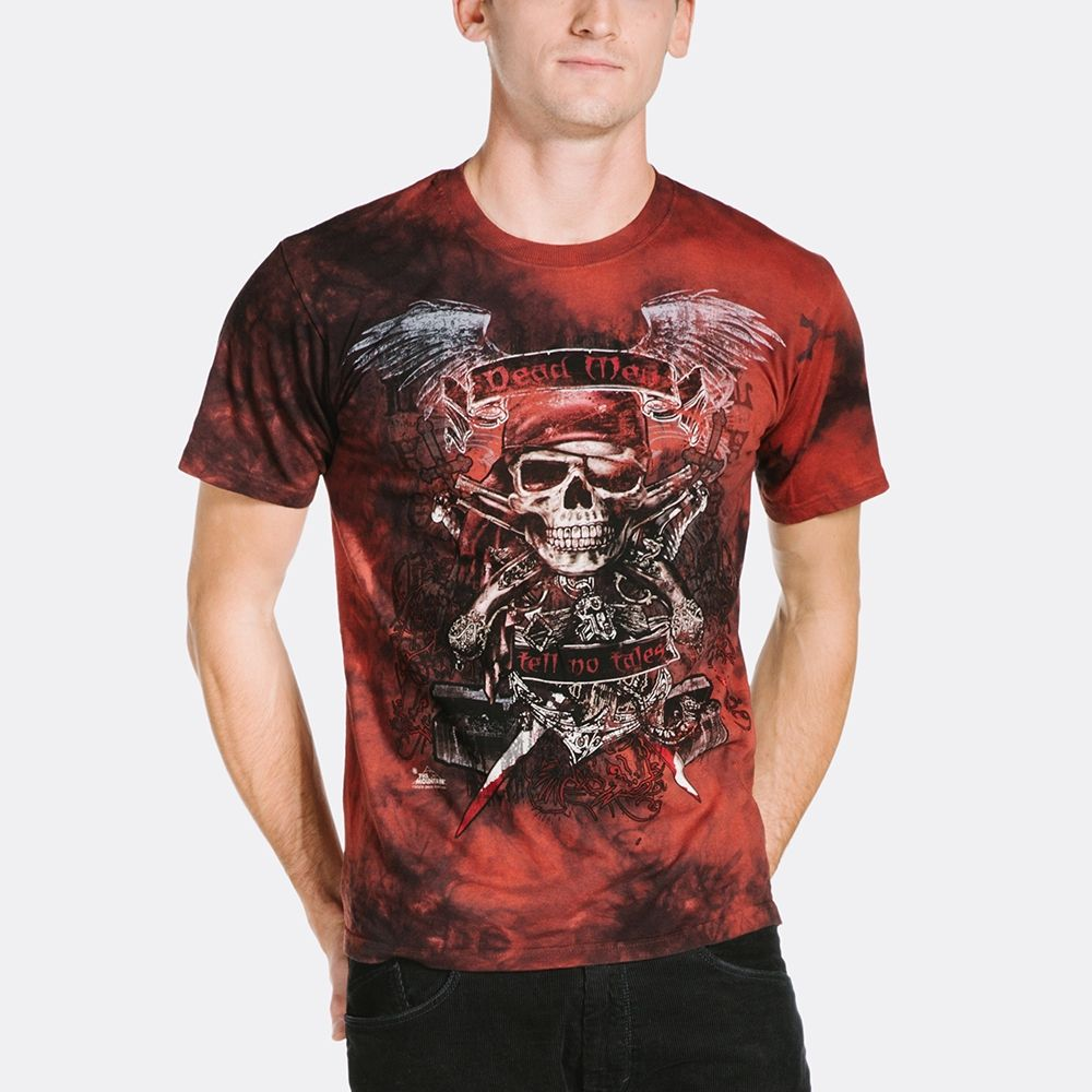 Dead Men Pirate - Adult Fantasy T-shirt - The Mountain®