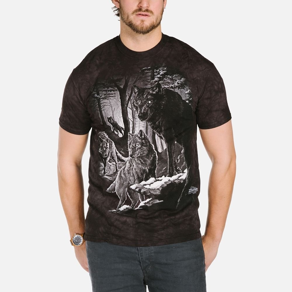 Dire Winter Wolves - Adult Wolf T-shirt - The Mountain®