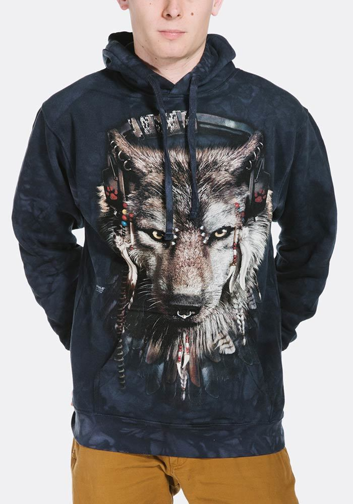 DJ Fen - Adult Wolf Hoodie Sweatshirt - The Mountain®
