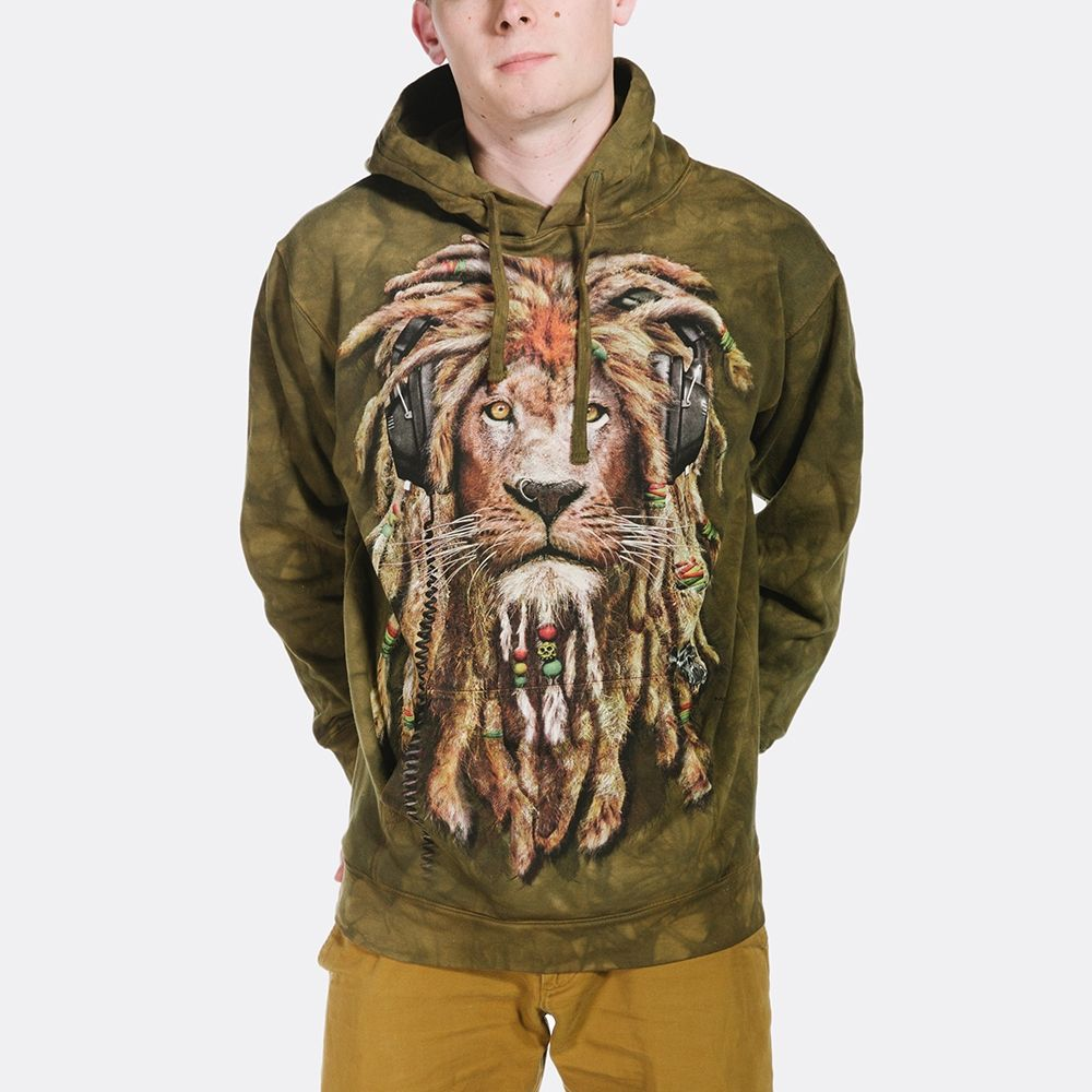 DJ Jahman - Lion Hoodie Sweatshirt - The Mountain®