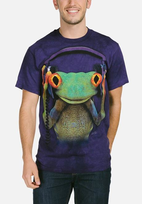 DJ Peace - Adult Frog T-shirt - The Mountain®