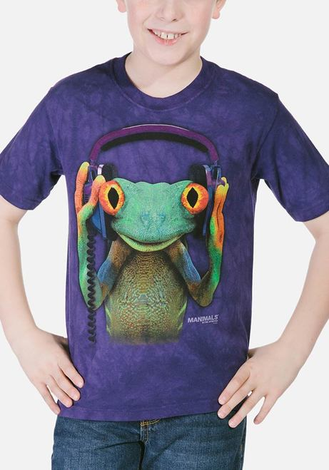 DJ Peace - Kids Frog T-shirt - The Mountain®