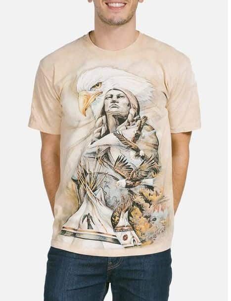 Eternal Spirit T-shirt | The Mountain® | Native American T-shirts | Eagles
