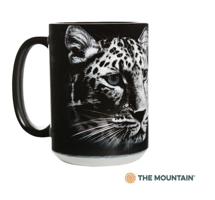 Extinction Is Forever Leopard Ceramic Mug - The Mountain® | Protection Collection