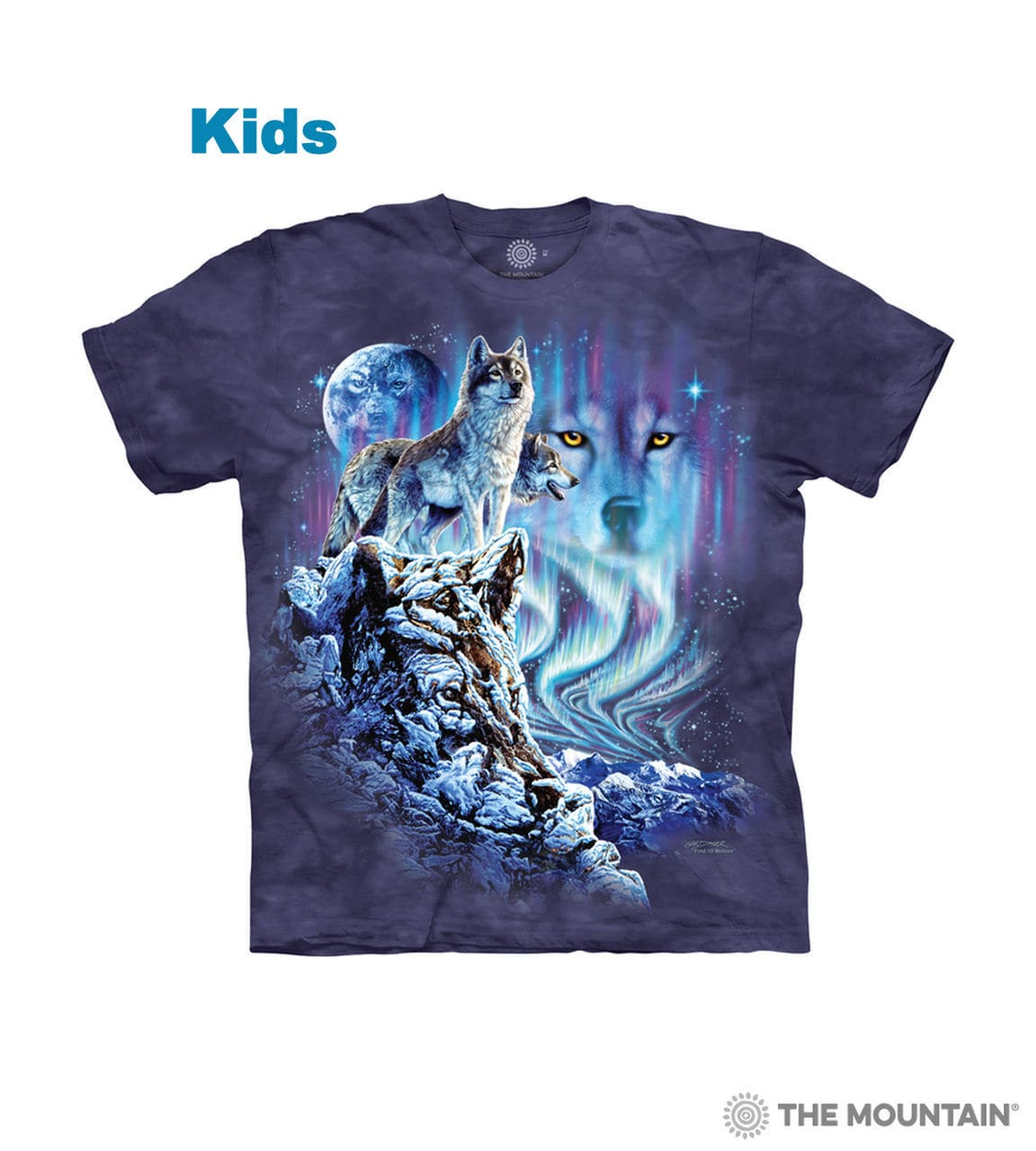Find 10 Wolves T-shirt - Kids Wolf T-shirt - The Mountain®