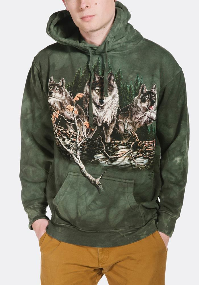Find 12 Wolves - Adult Hoodie Sweatshirt - The Mountain®