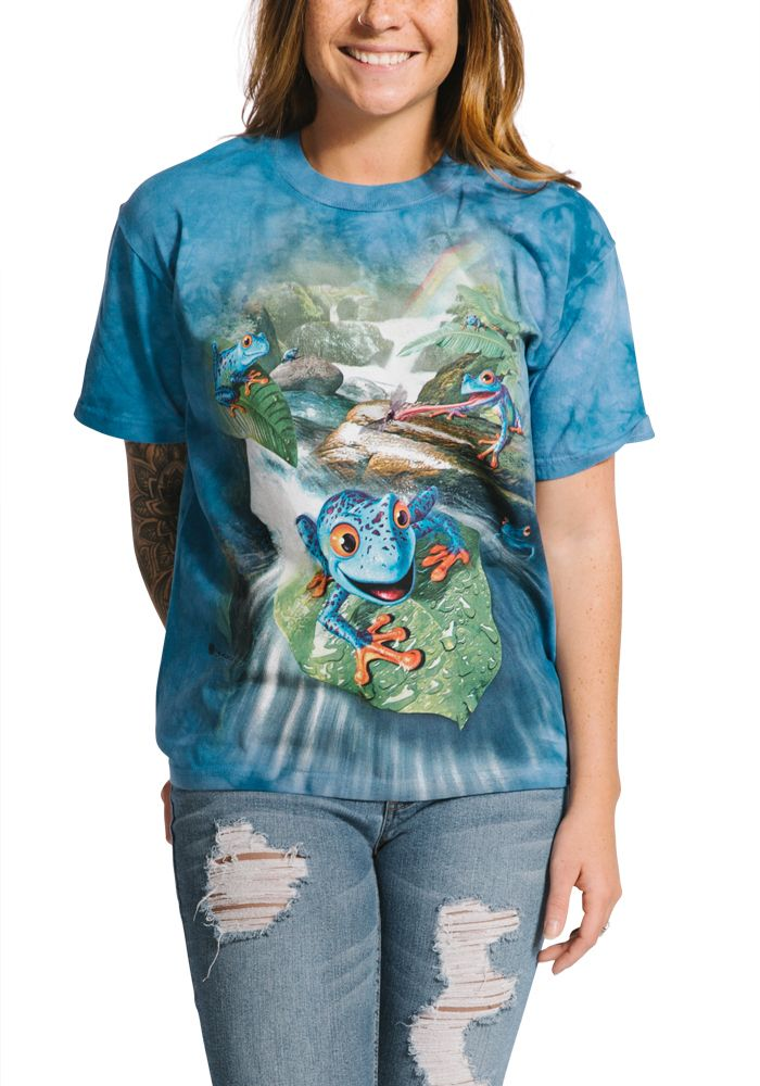 Frog Capades - Adult Amphibian T-shirt - The Mountain®