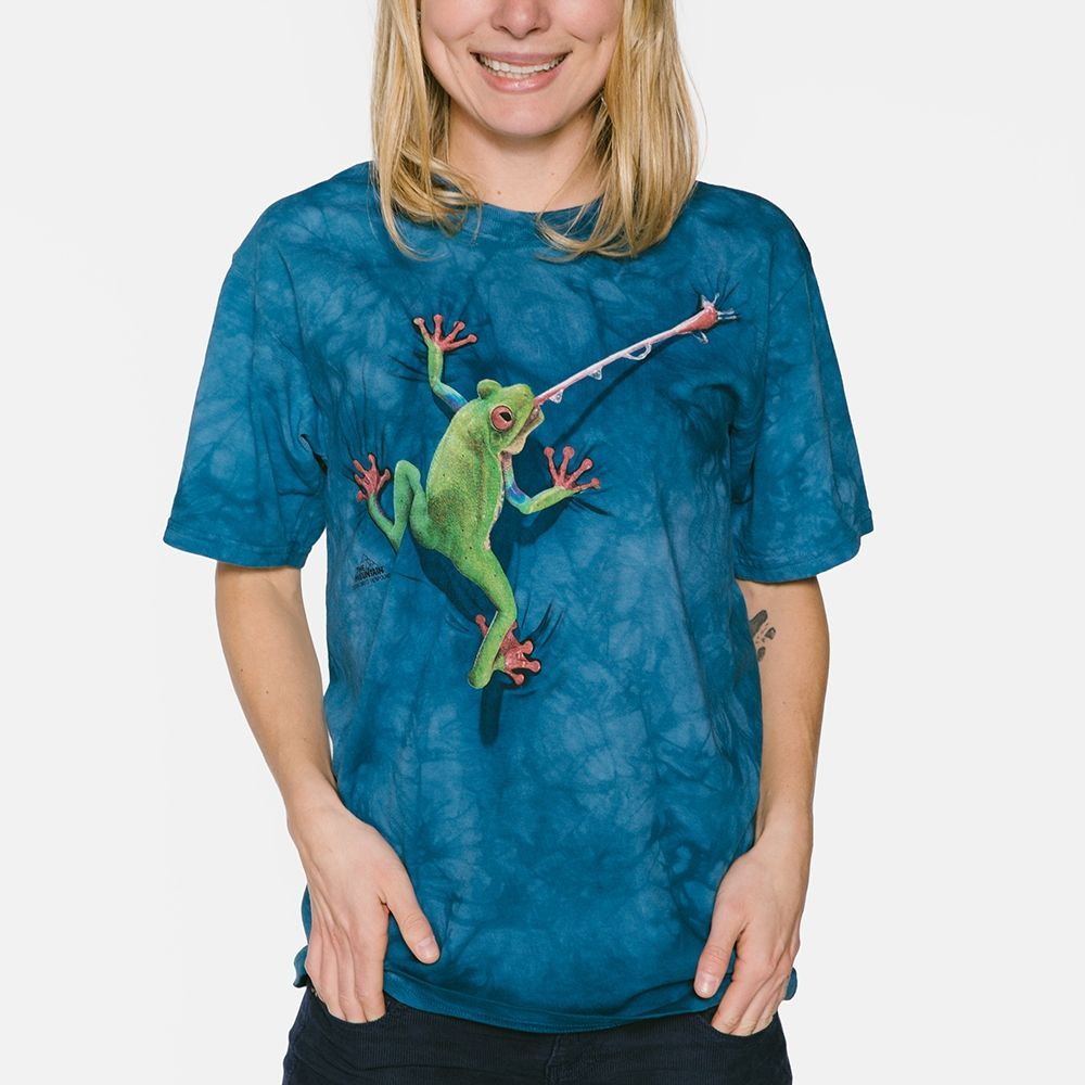Frog Tongue - Adult Amphibian T-shirt - The Mountain®