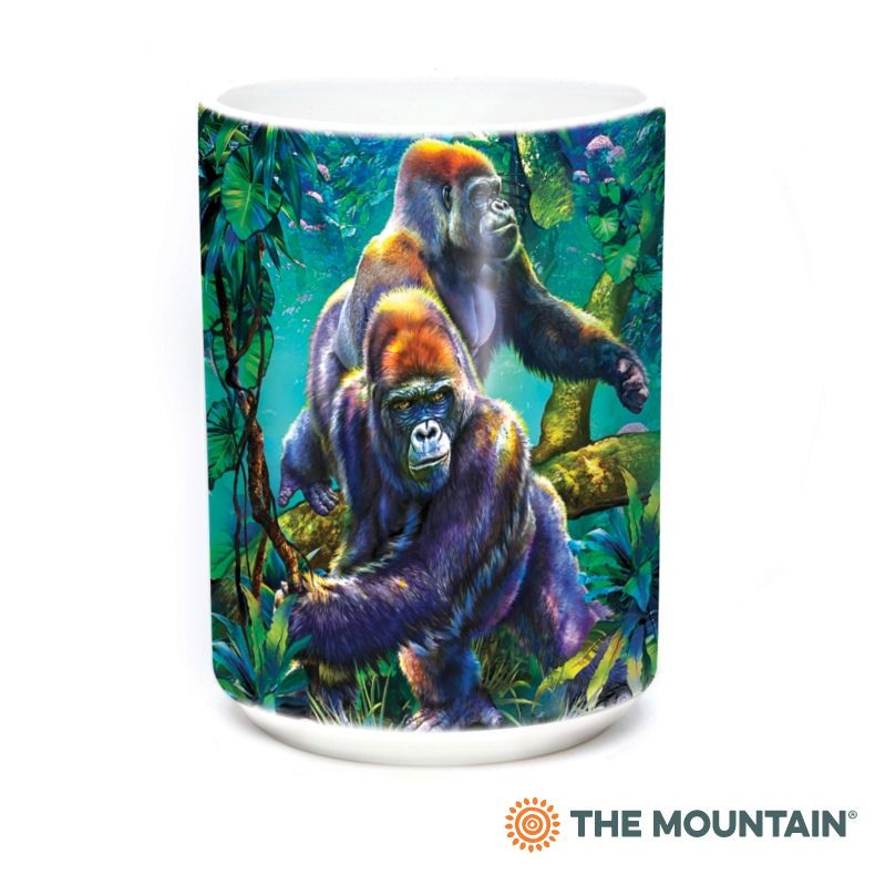 Gorilla Jungle Ceramic Mug - The Mountain®