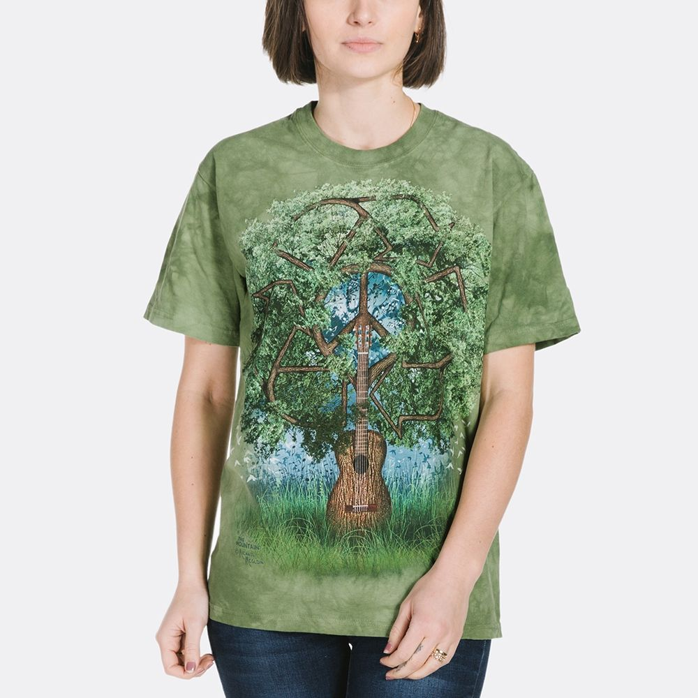 Guitar Tree T-shirt | Fantasy T-shirts | The Mountain® | Michael McGloin