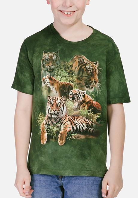 Jungle Tigers - Kids Big Cat T-shirt - The Mountain®