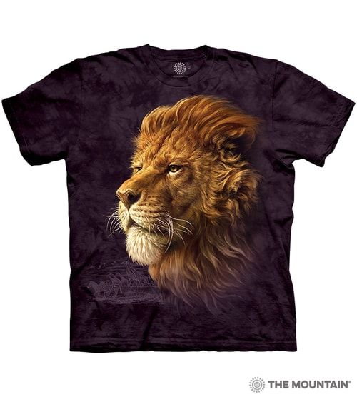 King of the Savanna T-shirt | The Mountain® | Lion T-shirts