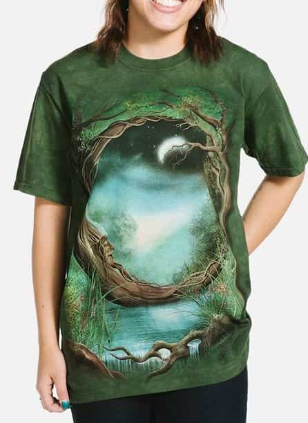 Moon Tree - Adult Fantasy T-shirt - The Mountain®