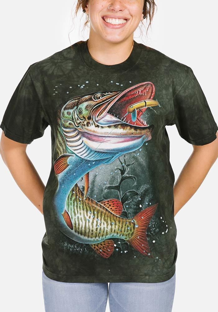 Muskie - Adult Fish T-shirt - The Mountain®