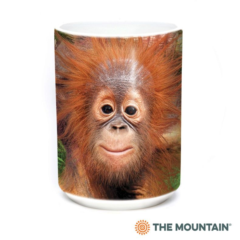 Orangutan Hang  Ceramic Mug - The Mountain®
