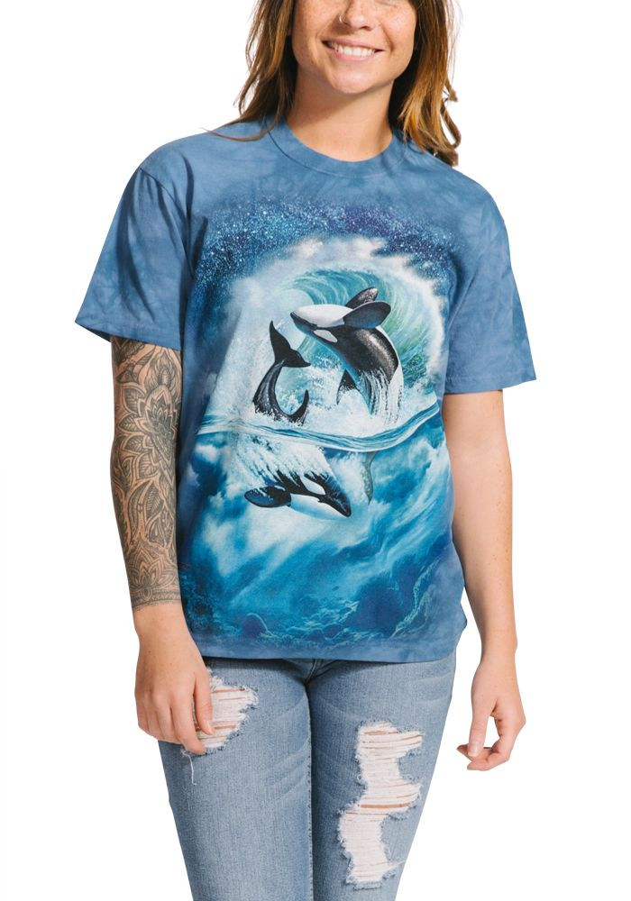 Orca Wave - Adult Whale T-shirt - The Mountain®
