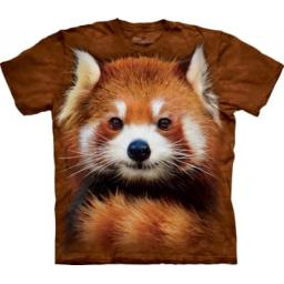 Red Panda Portrait - Adult Animal T-shirt - The Mountain®