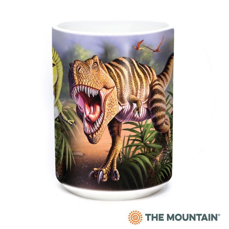 Rex Collage Ceramic Mug - The Mountain®