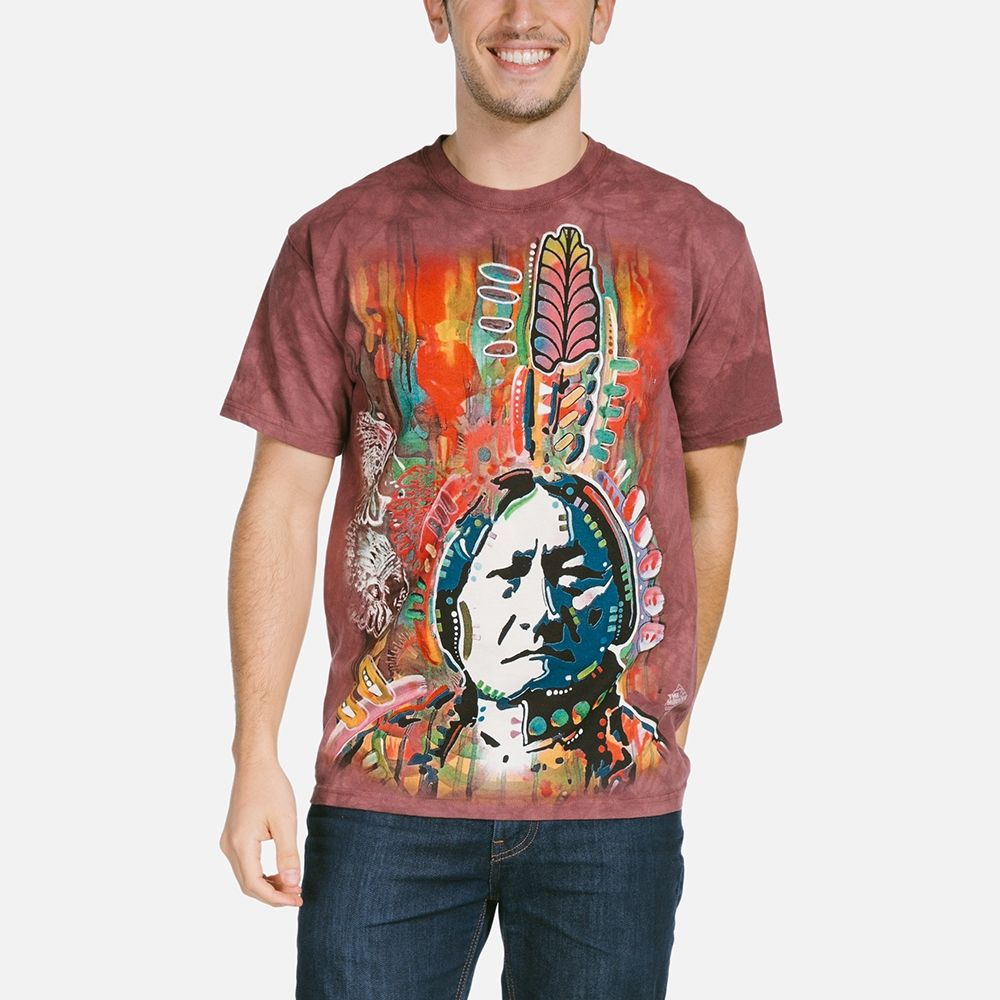 Sitting Bull T-shirt | Native American T-shirts | The Mountain®