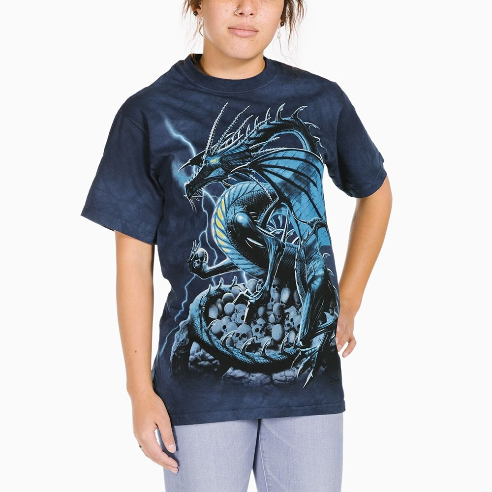 Skull Dragon - Adult Fantasy T-shirt - The Mountain®
