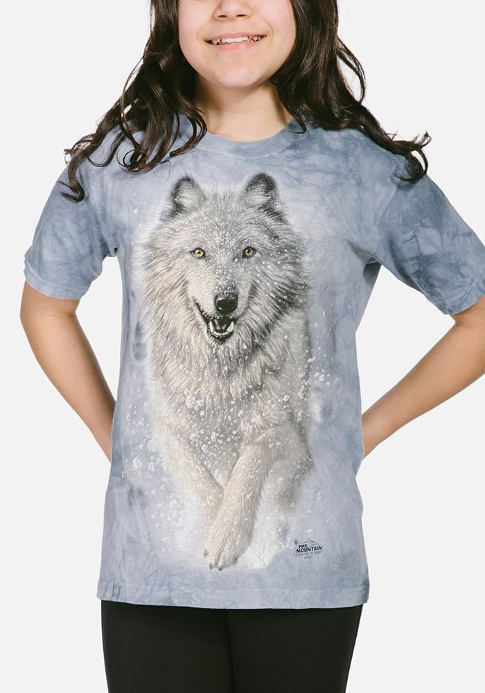 Snow Plow - Kids Wolf T-shirt - The Mountain®