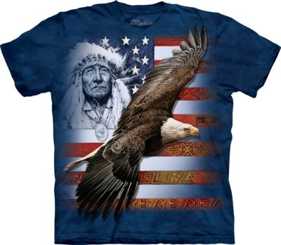 Spirit of America - Adult Native American T-shirt - The Mountain®