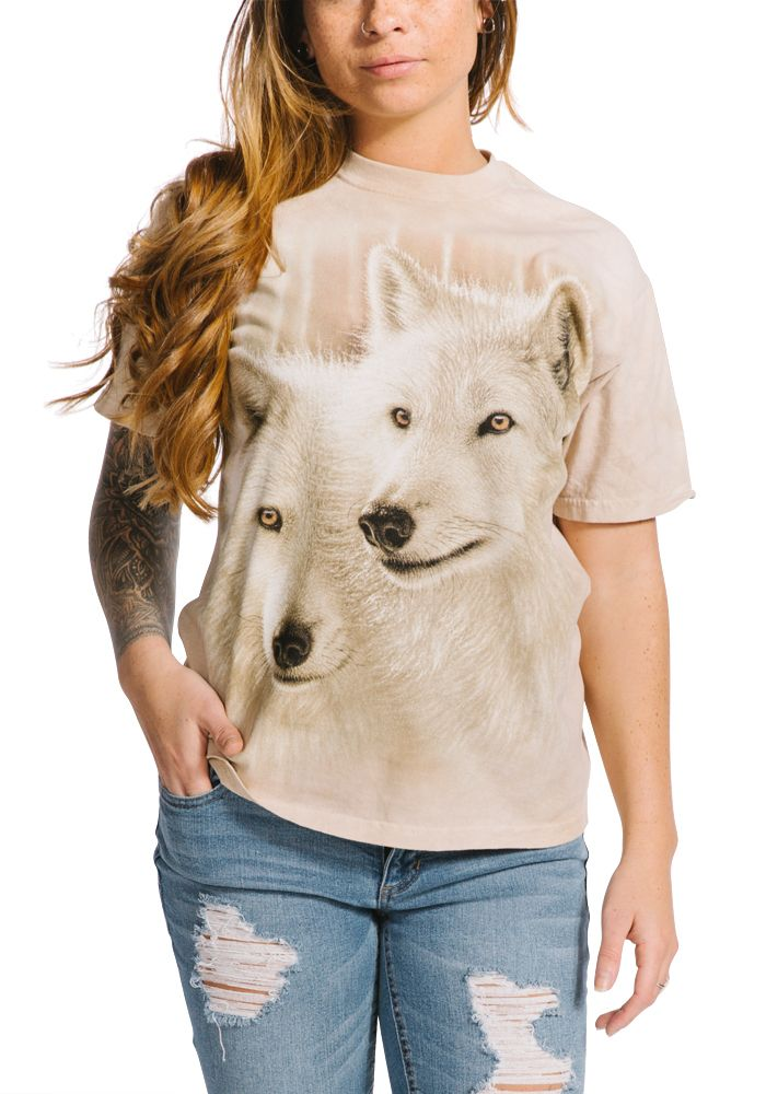 Sunlit Soulmates - Adult Wolf T-shirt - The Mountain®
