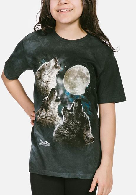 Three Wolf Moon - Kids T-shirt - The Mountain®