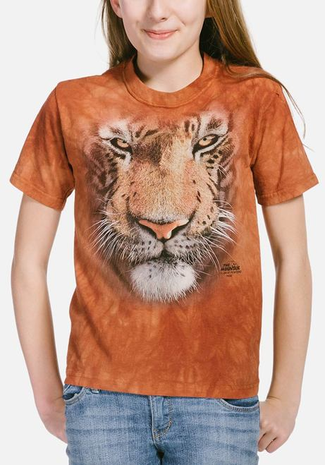 Tiger Face - Kids Big Face™ T-shirt - The Mountain®