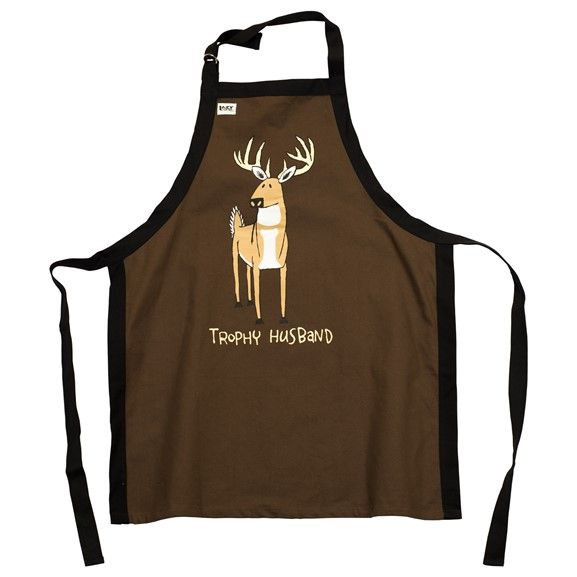 Trophy Husband Deer BBQ Apron - Lazy One®